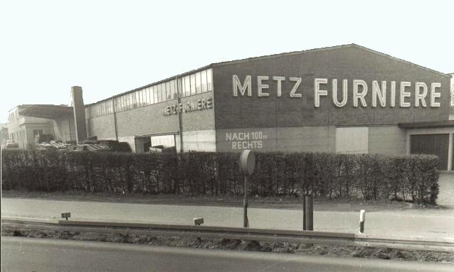 Metz Furniere in the 60s